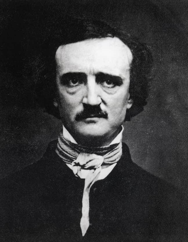 Edgar Allan Poe. Credit: Alamy