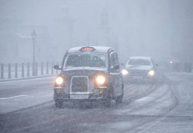 The UK has been hit with snow up and down the country. Credit: PA