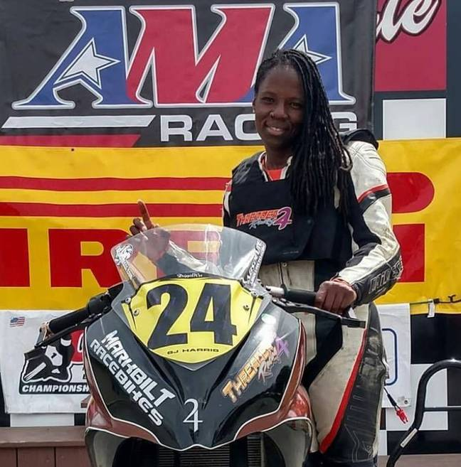 Joi Harris tragically died while performing a stunt for Deadpool 2. Credit: SJ Harris - Threader24 Racing