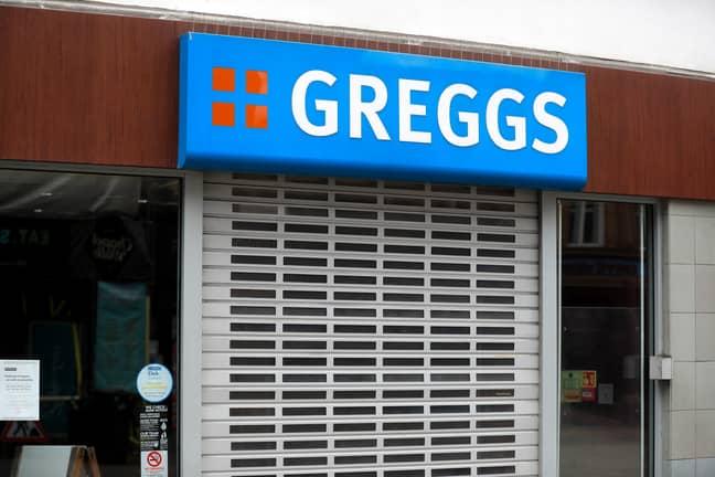 Greggs has closed due to the coronavirus outbreak. Credit: PA