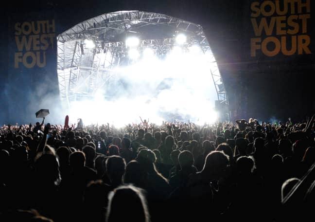 SW4 Festival. Credit: PA