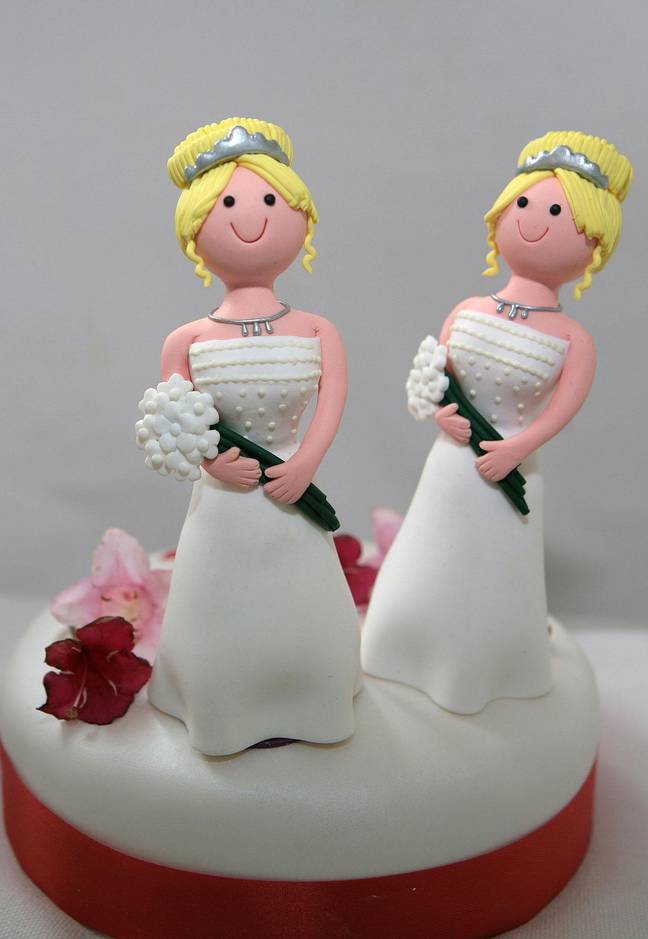 Until further notice, no more than five people are allowed to attend Church of England weddings. Credit: PA