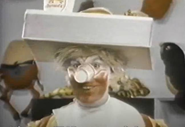 Scott in an early McDonald's commercial. Credit: McDonald's