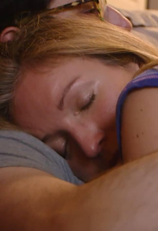 Saskia says she just misses the human contact. Credit: Barcroft/Love Don't Judge