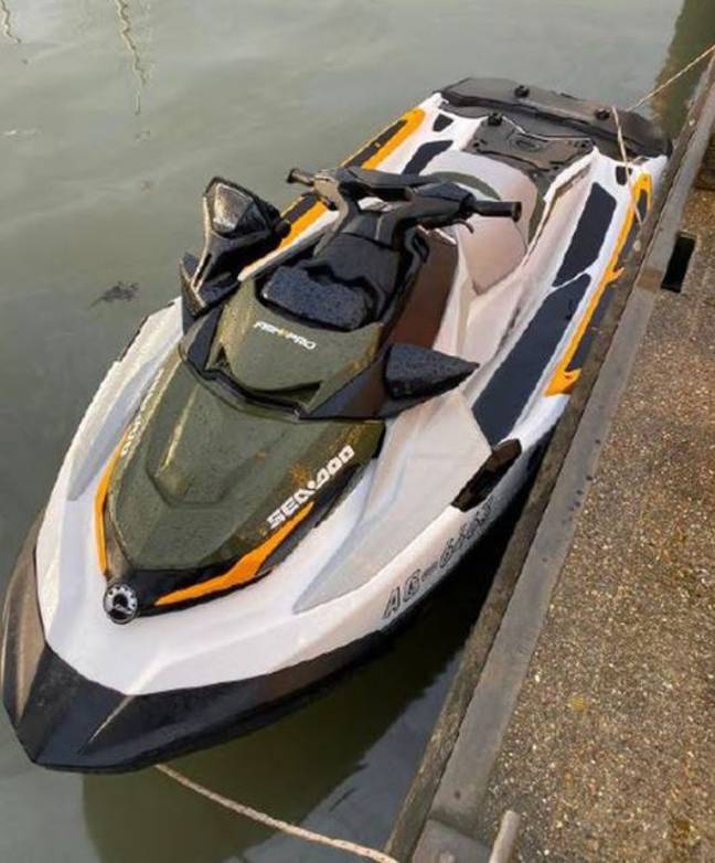 Two men were recently caught smuggling cocaine into the UK on a jet ski. Credit: PA