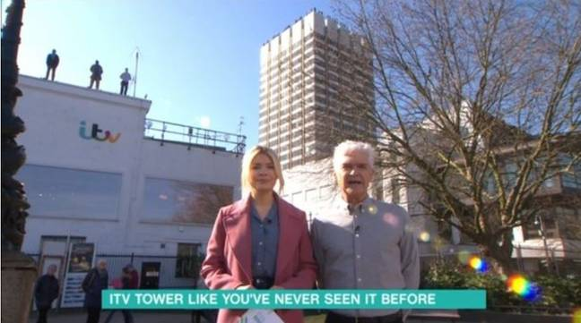 Phil and Holly introduce the Project 84 campaign. Credit: ITV / This Morning