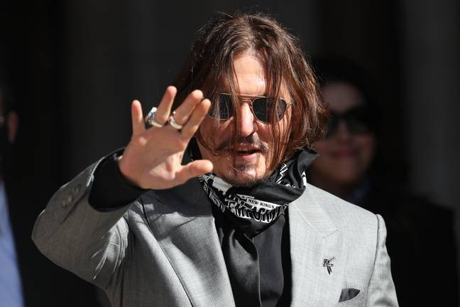 Depp lost a libel case against The Sun. Credit: PA