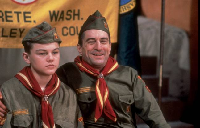 De Niro's first starred alongside a teenage DiCaprio in This Boy's Life. Credit: Shutterstock