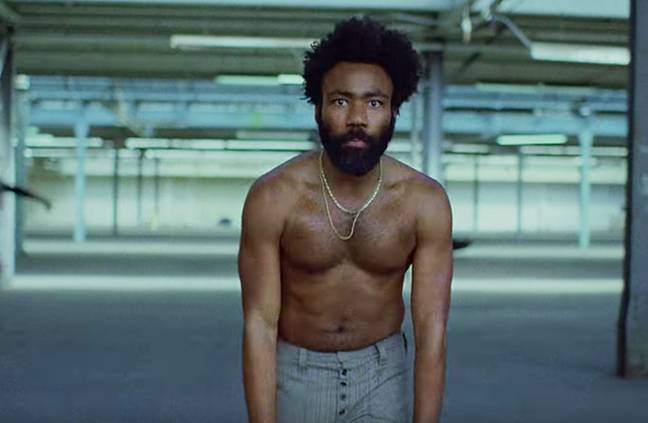 'This Is America' by Childish Gambino is up for Song of the Year. Credit: RCA
