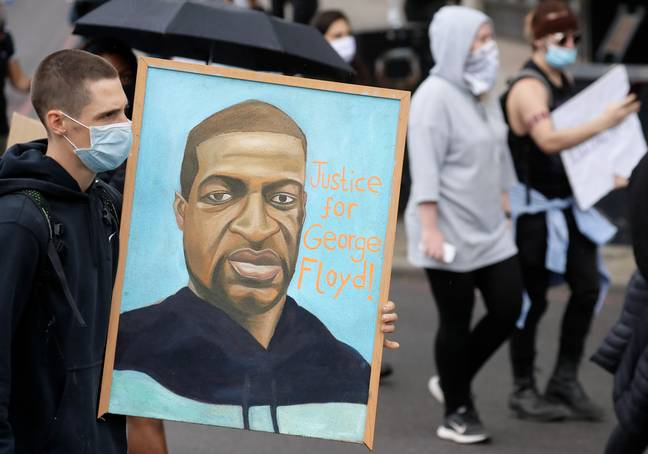 Floyd's death has sparked worldwide protests. Credit: PA