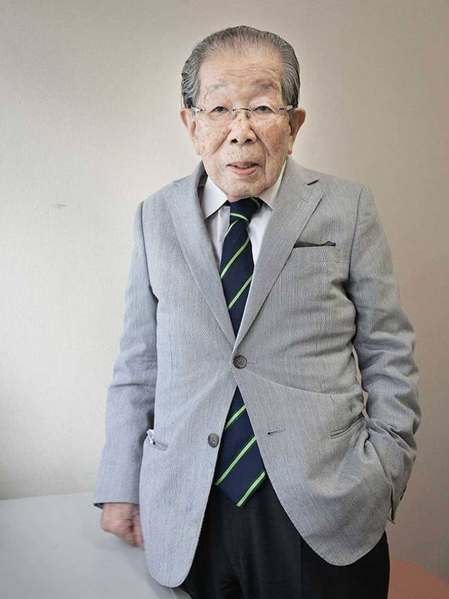 Dr Shigeaki Hinohara. Credit: Karsten Thormaehlen (Creative Commons)