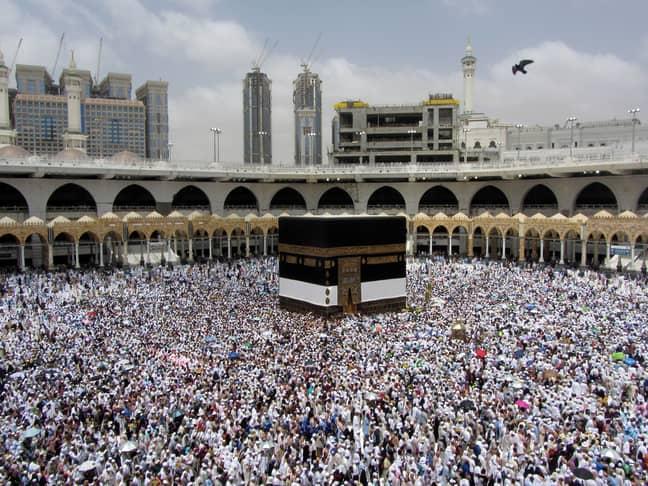 Hajj in 2019. Credit: Shutterstock