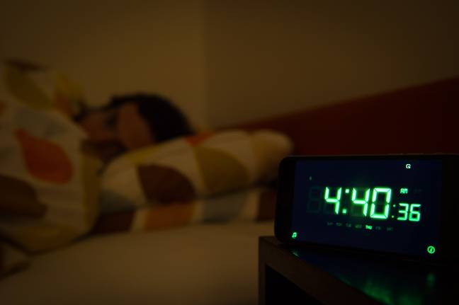 Bad sleep creates a bad mood - who knew? Credit: PA