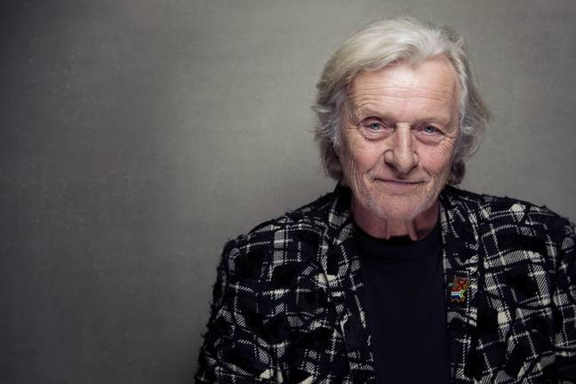 Rutger Hauer has died aged 75. Credit: PA
