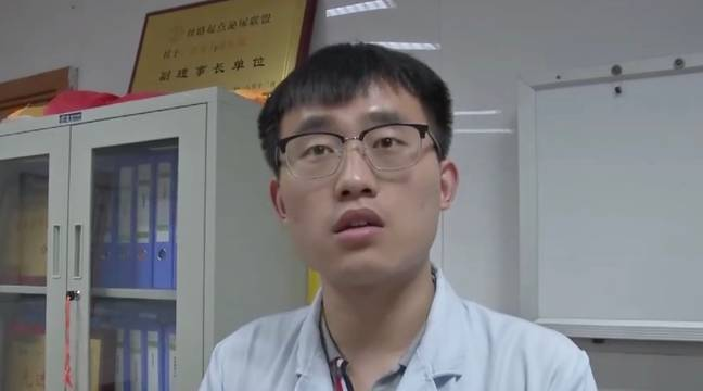 Dr Yanyan says the boy was too embarrassed to tell his parents. Credit: AsiaWire