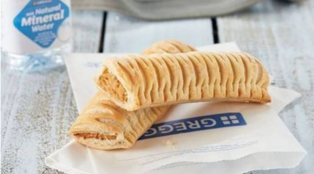 If you've been living off vegan sausage rolls for the last two weeks, you might not be feeling your best. Credit: Greggs