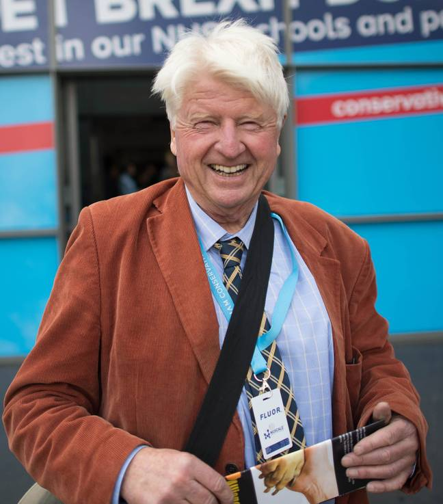 Johnson pictured in October last year. Credit: PA
