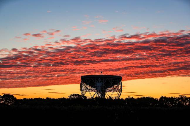 Jodrell Bank Observatory. Credit: PA