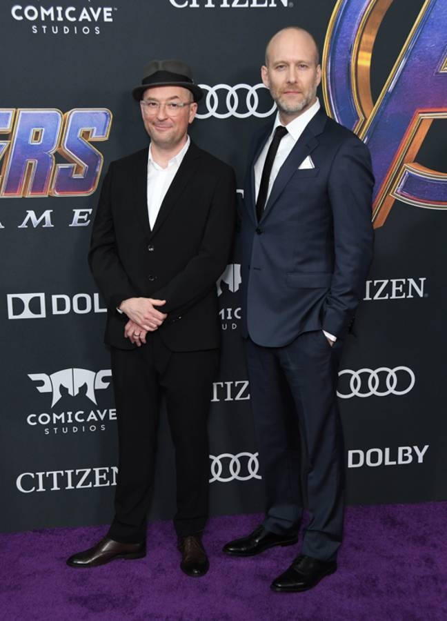 Christopher Markus and Stephen McFeely. Credit: PA