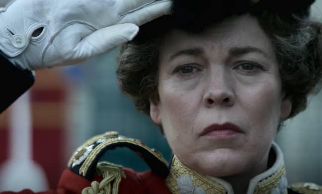 Olivia Colman plays Queen Elizabeth. Credit: Netflix