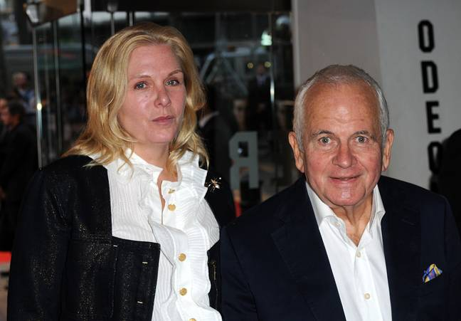 Holm and Sophie de Stempel in 2008. Credit: PA