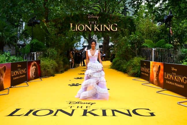 The Lion King Star Maya Jama Recently Split Up With Stormzy. Credit: PA