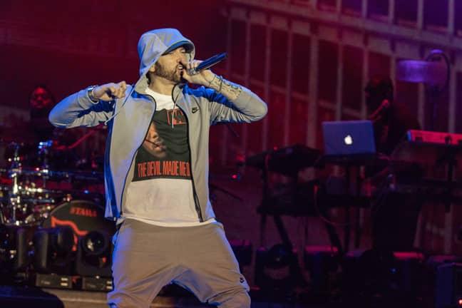 Eminem is no stranger to beef. Credit: PA