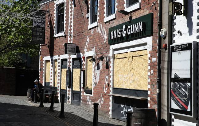 Pubs across the UK suffered during the full lockdown. Credit: PA
