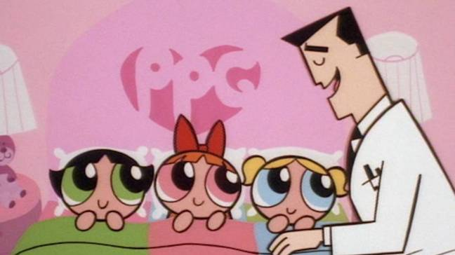 The animated series followed the Powerpuff Girls when they were small. Credit: Cartoon Network