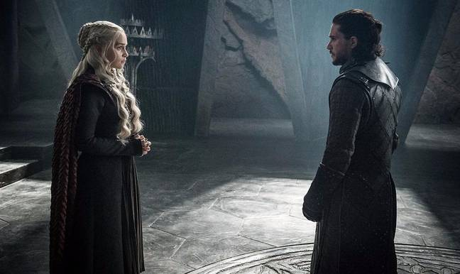 Jon ended up killing Dany to save the world. Credit: HBO