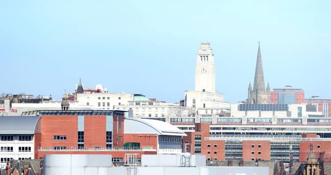 Leeds. Credit: PA
