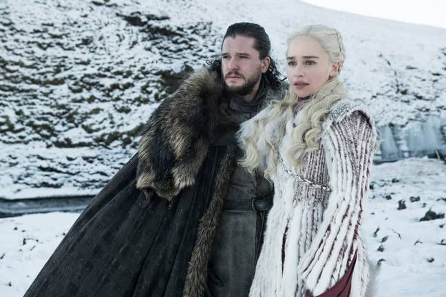 Jon Snow and Daenerys Targaryen. Credit: HBO