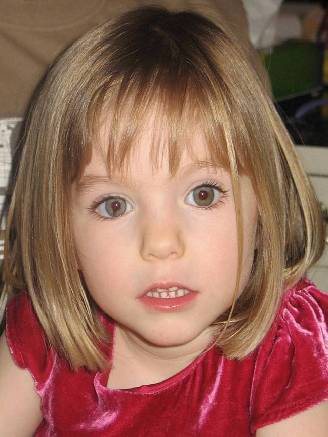 Madeleine McCann disappeared in 2007, when she was just three years old. Credit: PA