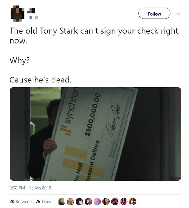 Spider-Man: Far From Home Tweets. Credit: Twitter