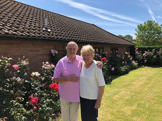Ray and Theresa have had to isolate themselves because of their age and health. Credit: Supplied