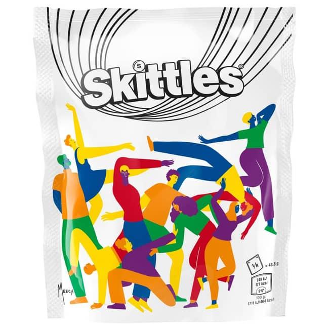 Maia Boakye's Skittles packaging. Credit: Straight Forward/Maia Boakye