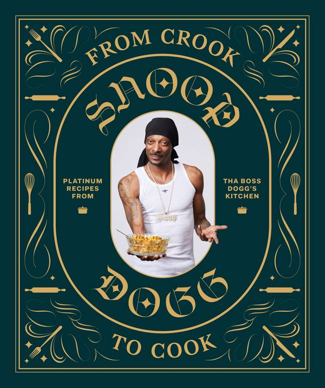 Snoop Dogg's 'From Crook To Cook'. Credit: Chronicle Books