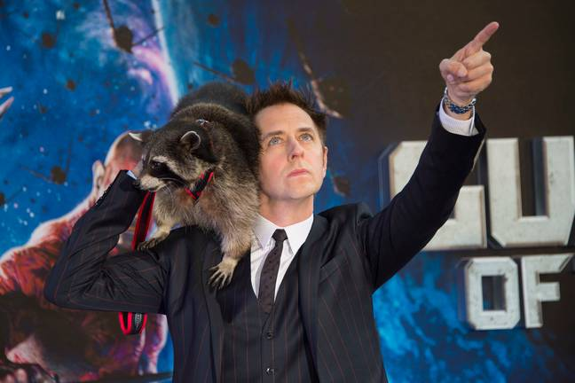 Gunn was allowed back for the third Guardians of the Galaxy flick. Credit: PA