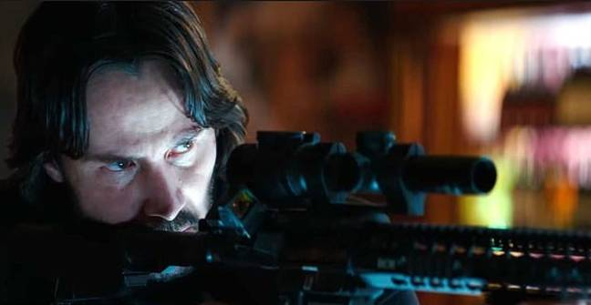 John Wick, doing what he does best. Credit: Lionsgate
