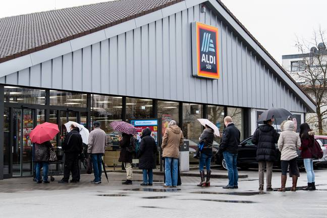 Prediction of what Aldi Australia stores will look like next weekend. Credit: PA