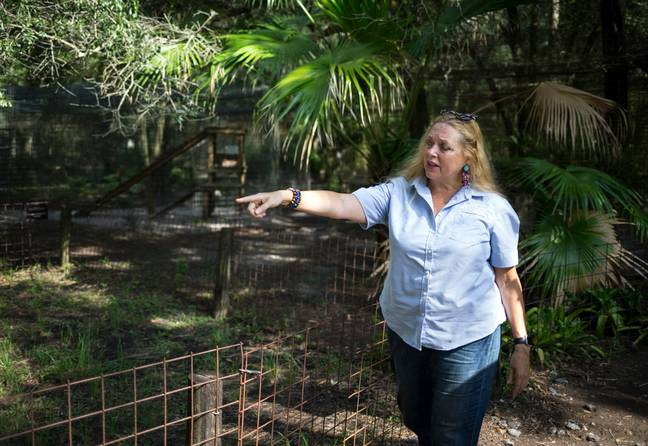 Jeff says there is a body buried beneath the zoo. Credit: PA