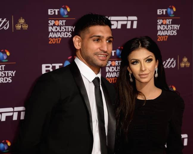 Amir Khan and wife