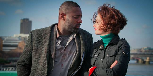 Idris Elba and Ruth Wilson in 'Luther' (Credit: BBC)