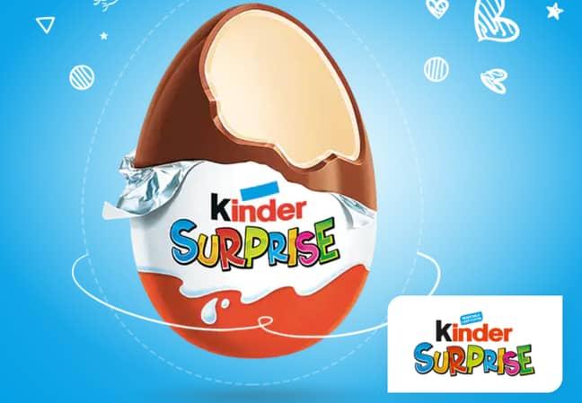 Cannabis was found inside the Kinder egg. Credit: Kinder