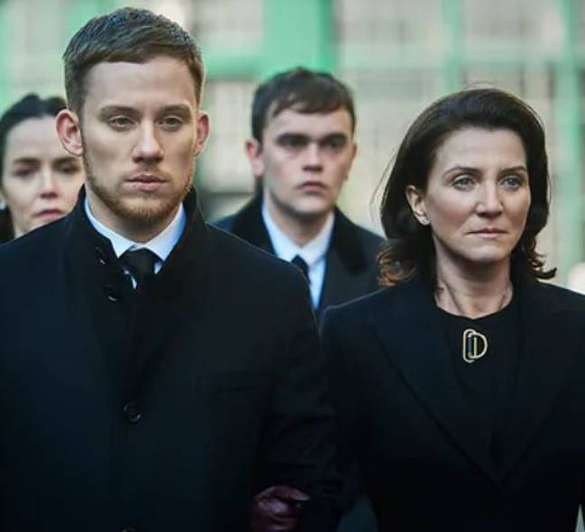 Joe Cole and Michelle Fairley star in the thriller. Credit: Sky