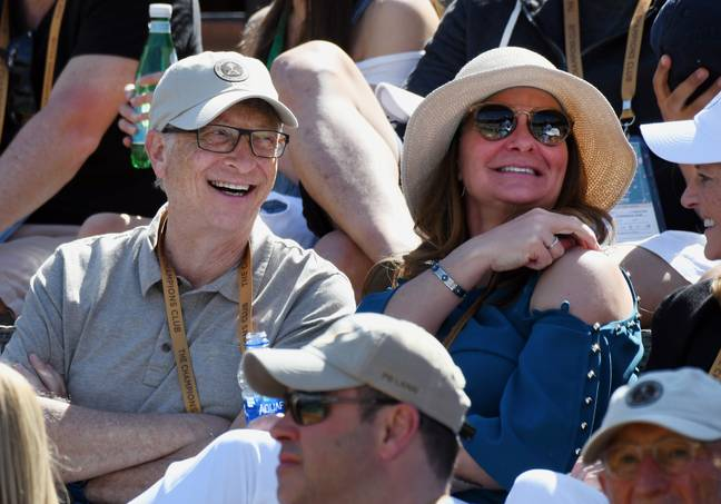 Bill and Melinda Gates pledged to give away 95 percent of their wealth. Credit: PA