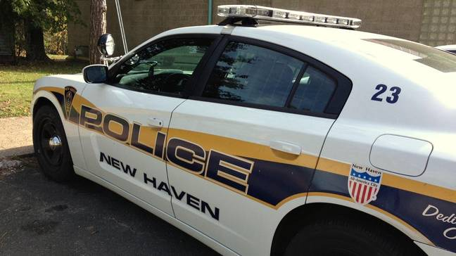 He was picked up by the New Haven police. Credit: New Haven Police Department