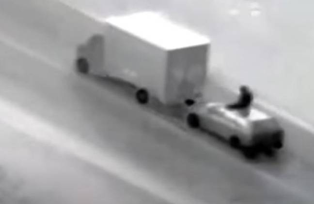 Thieves have been targeting lorries carrying expensive items like PlayStations and mobile phones.