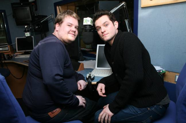 Mathew Horne with onscreen best pal, James Corden. Credit: PA