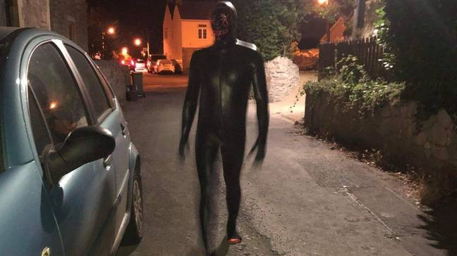 Locals fear 'the gimp man' may have returned. Credit: Handout